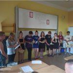 Slavnostní předávání vysvědčení žákům 9. třídy